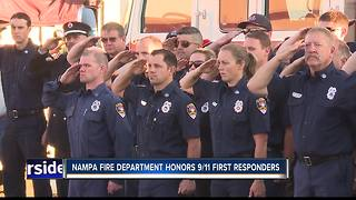 Nampa Fire Department honors 9/11 first responders