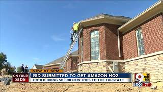 Cincinnati housing business would boom with influx of 50,000 Amazon workers - Video