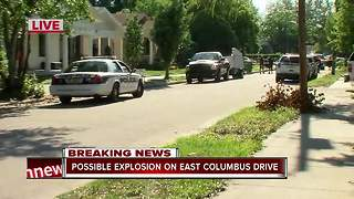 Tampa Police investigating pipe bomb explosion on E. Columbus Dr.