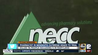 Pharmacist in deadly meningitis outbreak headed to trial - Video