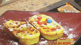 Master Steph: Christmas Waffles 12/22/16 - Video