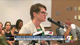 No parents supported arming teachers at Hamilton school board meeting - Video