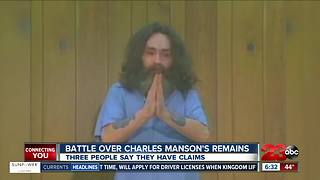Legal battle over Charles Manson's remains continues in Kern County