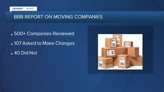 BBB reviews moving companies' advertising