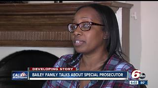 Bailey family talks about special prosecutor request in Aaron Bailey shooting death - Video