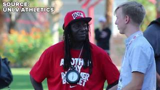 Flavor Flav watches first day of UNLV football fall camp