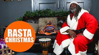 Rasta Claus is spreading love at Christmas - Video