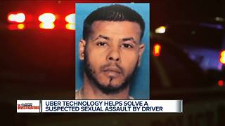 Uber technology helps solve a suspected sexual assault by driver - Video