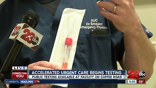 Accelerated Urgent Care begins COVID-19 testing