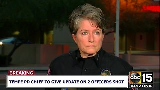 Tempe Police Chief gives update on officer-involved shooting