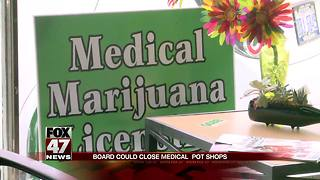 Michigan board to get guidance on ability to close pot shops - Video