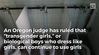 Judge Erases Right to Privacy, Rules Schoolgirls Must Share Bathroom with Males - Video