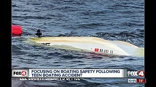 Focusing on boating safety following teen boating accident