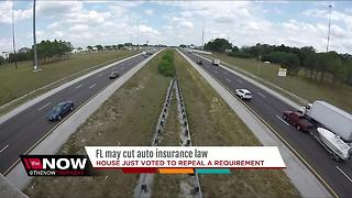 Florida may cut auto insurance law - Video