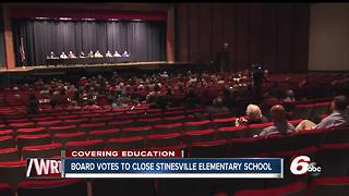 School board votes to close Stinesville Elementary School next year - Video