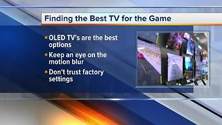 Finding the best TV to watch the game
