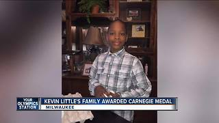 Carnegie Award given to Milwaukee boy killed in heroic act during house fire - Video