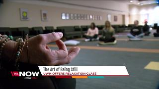 UWM class teaches students the art of relaxation - Video