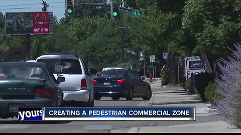 Boise considers pedestrian commercial zone