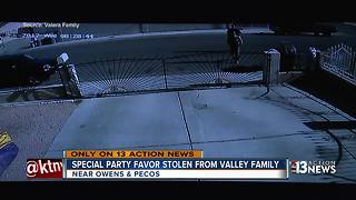 Family says rental bounce house stolen from yard - Video