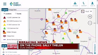 Duke Energy updates on power outages