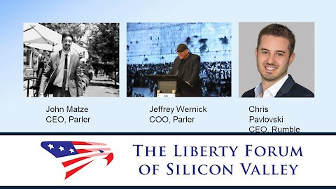 Free Speech Online (Rumble/Parler) Panel Discussion ~ The Liberty Forum ~ 11-10-2020