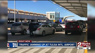 Holiday traffic tips at Tulsa International Airport