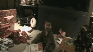 """Little Boy Goes Crazy When He Receives a Nintendo Wii for Christmas"""
