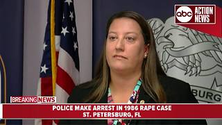DNA evidence leads to arrest in 1986 rape case | Press Conference