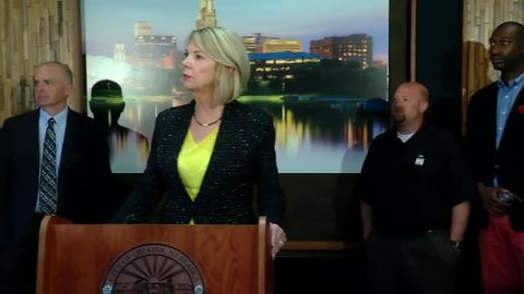 FULL PRESS CONFERENCE: Yale Park Apartments update