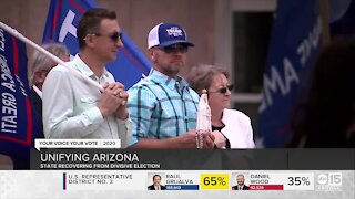 Arizona recovering from divisive election