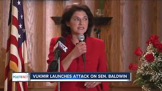 PolitiFact Wisconsin: Vukmir claims Baldwin doesn't want the Pledge said in class - Video