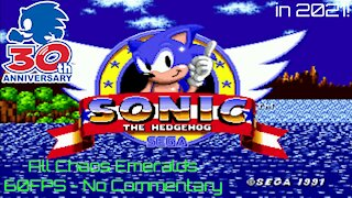 Sonic the Hedgehog (1991) in 2021! Playthrough
