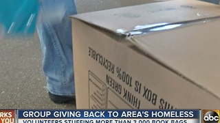 Group giving back to area's homeless in Annapolis