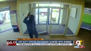 Deters: Officer who shot would-be robber acted appropriately - Video