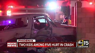 Road restrictions in place after serious crash in north Phoenix - Video