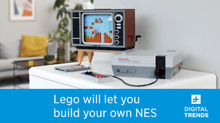 Nintendo and Lego piece together NES-themed set