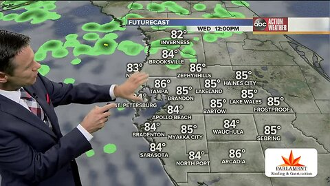 Florida's Most Accurate Forecast with Greg Dee on Wednesday, October 16, 2019