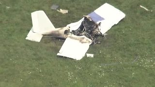 Plane crashes in Fishers, killing 1 - Video