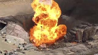 One missing, one injured in Texas chemical plant explosion - Video