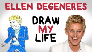 Ellen Degeneres | Draw My Life - Video