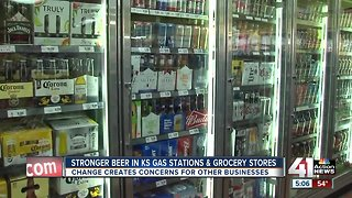Kansas gas stations, grocery stores can now sell stronger beer
