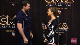 Cassadee Pope finds out her song goes gold | Rare Country - Video