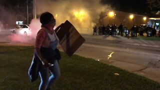 Protests turn violent overnight in Milwaukee