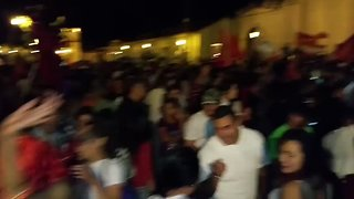 Honduras Opposition Leader's Supporters Gather Ahead of Final Election Result - Video