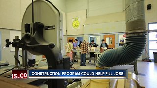 Polk schools train students for future in construction