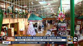 On the go at Savage Mill - Video