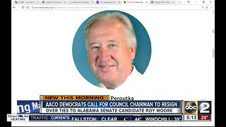 ACCO Democrats want council chairman to resign over tires to Roy Moore - Video