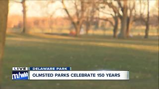 Showing off Buffalo Olmsted Parks Conservancy's new app - Video