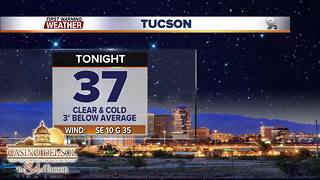 Chief Meteorologist Erin Christiansen's KGUN 9 Forecast Friday, December 8, 2017 - Video